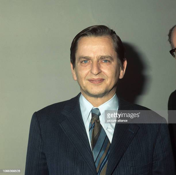 The Swedish politician Olof Palme pictured during a private visit to Bonn Germany on 21 November 1974 Palme was born on 30 January 1927 in Stockholm...