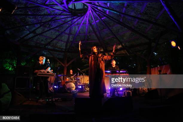 The Swedish singer and songwriter Skott performs at Body Soul Festival at Ballinlough Castle on June 25 2017 in Co Westmeath Ireland