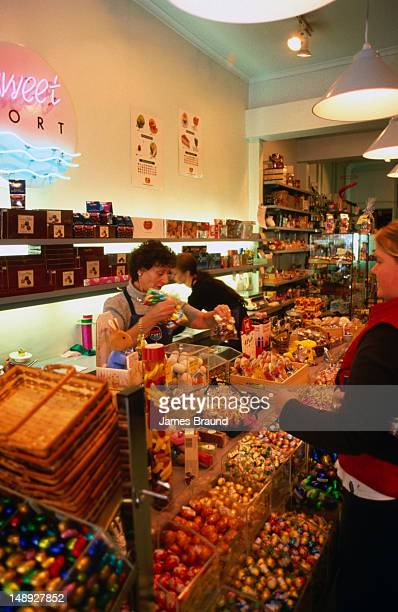 The Sweet Port Chocolate shop in Port Melbourne.