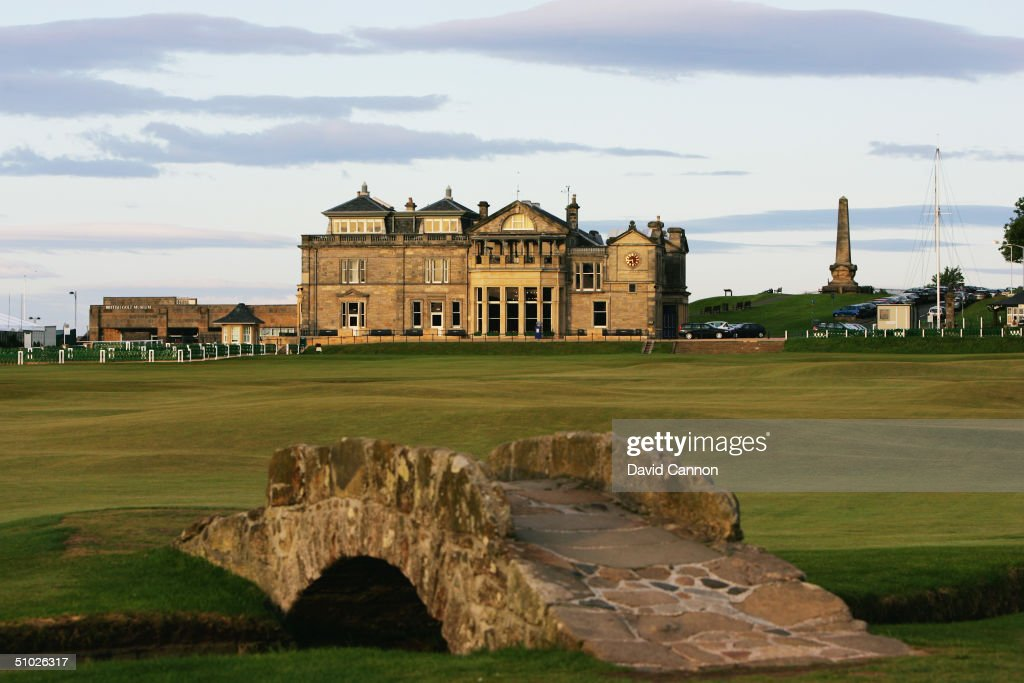 Old Course : News Photo