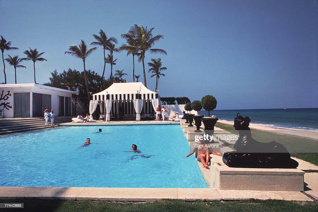 Molly Wilmot's Pool : News Photo