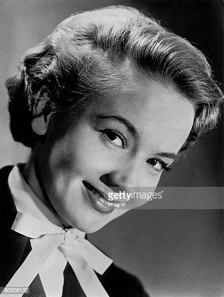 The Swiss actress Liselotte Pulver also credited as Lilo Pulver Photograph Around 1948