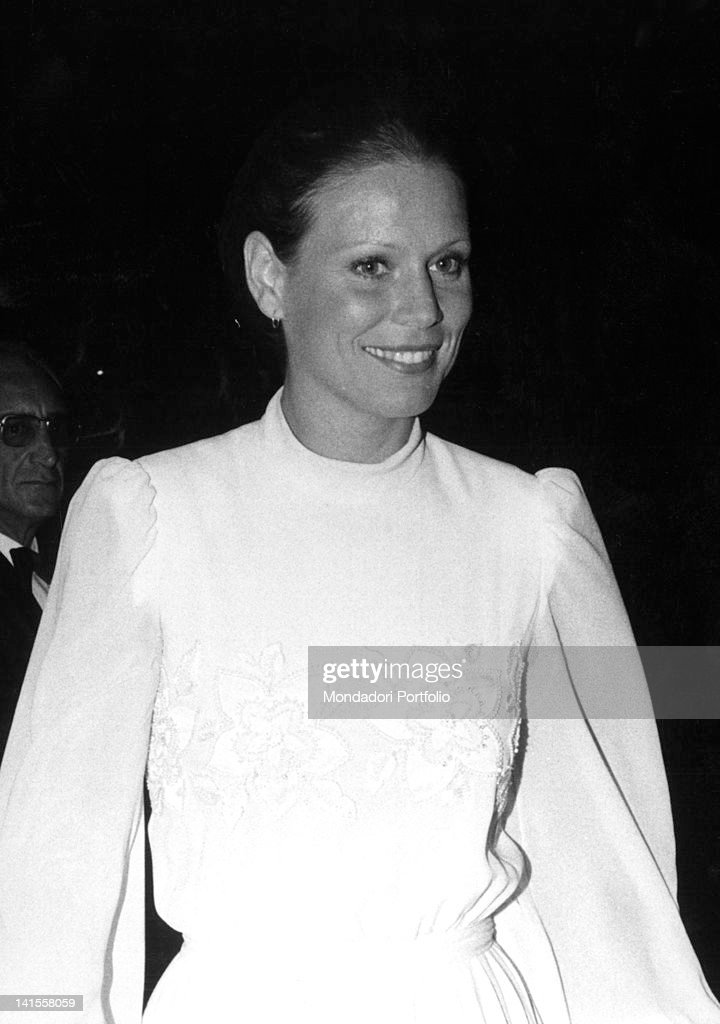 Marthe Keller At A Party For Frank Sinatra : News Photo