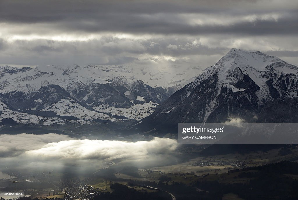 SWITZERLAND-ALPS : News Photo