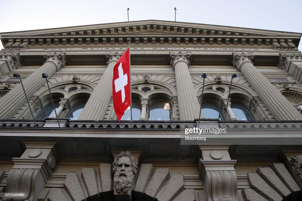 Swiss National Bank Rates Decision : News Photo