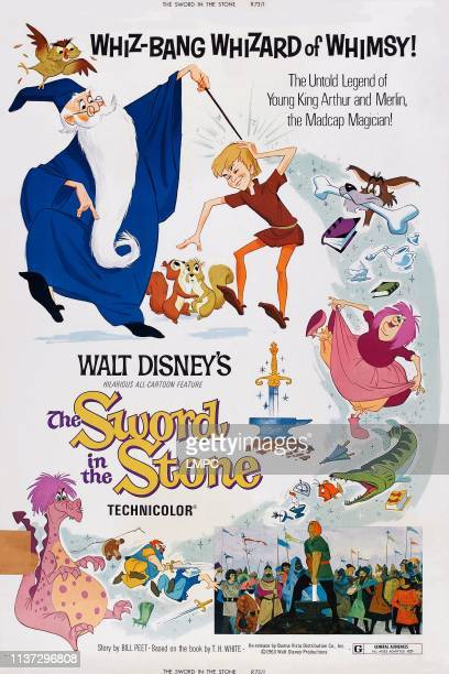 The Sword In The Stone poster US poster 1963