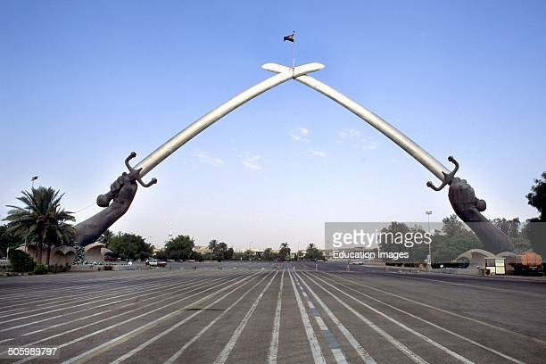 The Swords of Qadisiyah Also Called The Hands of Victory Baghdad Iraq Asia