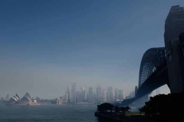 AUS: Sydney Blanketed With Smoke Haze Following Hazard Reduction Burns