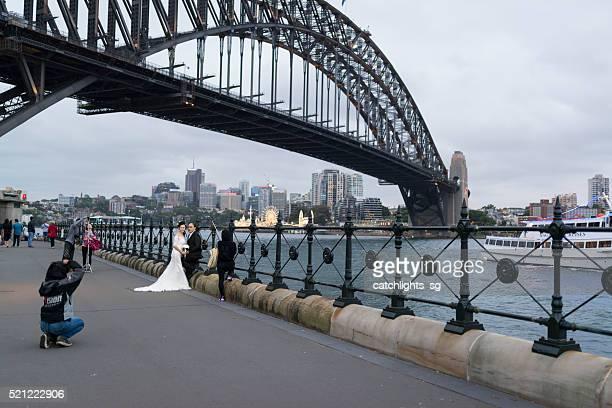 The Sydney Harbour Bridge, Sydney Australia