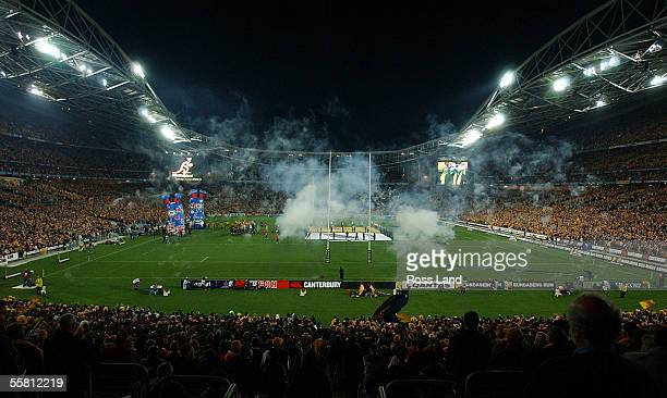The Sydney Olympic Stadium before the TriNations rugby test played between the All Blacks and the Wallabies in Sydney, Australia, Saturday August 07,...