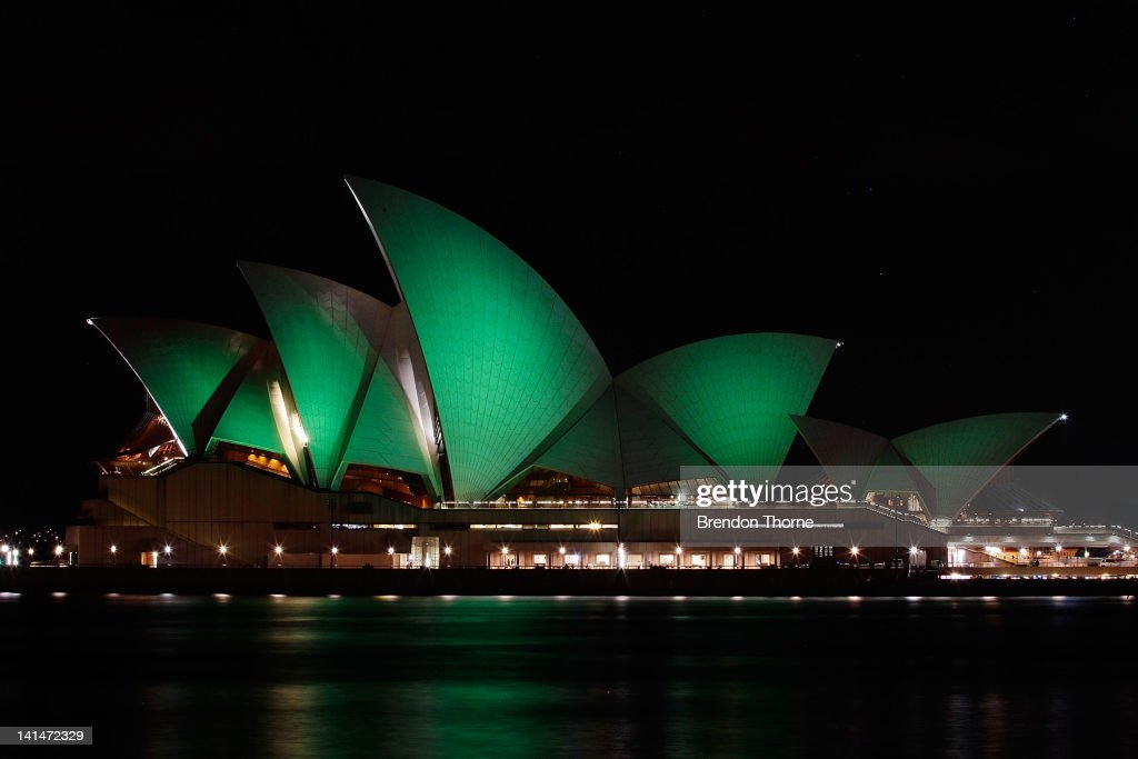 the sydney opera house strengthening environmental The sydney opera house has glowed green while much of australia plunged into darkness as the country united for the earth hour campaign on climate change.