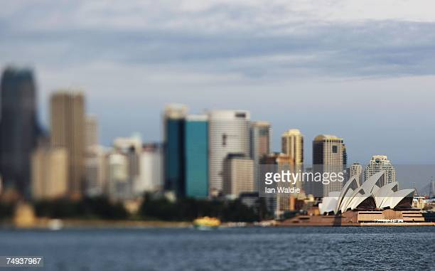 The Sydney Opera House is seen June 28 2007 in Sydney Australia The Opera House designed by Joern Utzon and officially opened in October 1973 has...