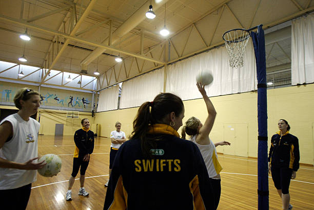 The Sydney Swifts Training At Olympic Park Sports Centre Homebush