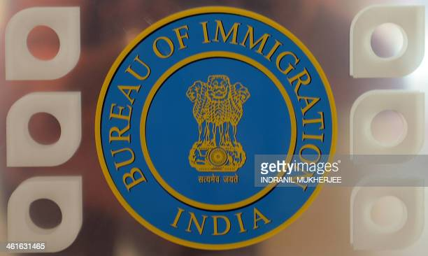 Indian bureau of immigration stock photos and pictures