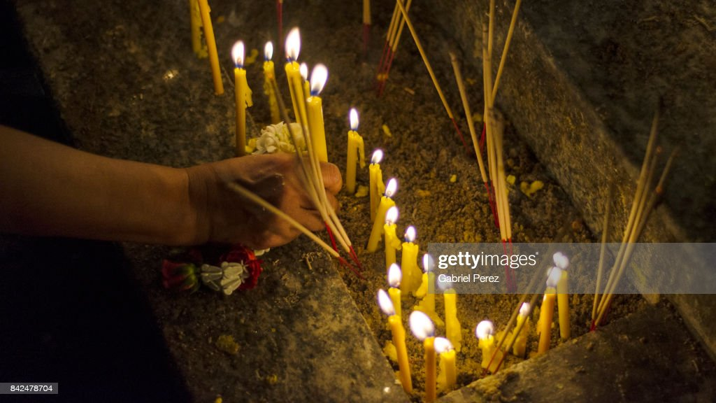 The Symbolism Of Candles In Buddhism Stock Photo Getty Images