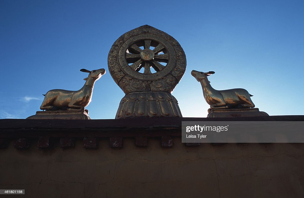 The Symbols Of Tibetan Buddhism The Wheel Of Life And Two