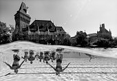 budapest hungary synchronised swimming team france