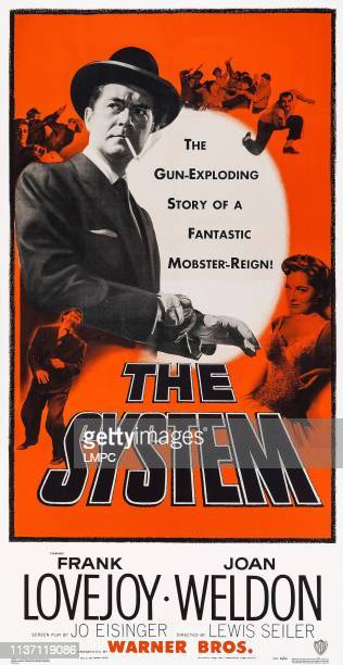 The System poster US poster art from left Frank Lovejoy Joan Weldon 1953