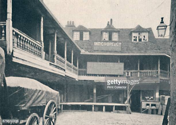 The Tabard Inn Southwark' c1873 From Social England Volume III edited by HD Traill DCL and J S Mann MA [Cassell and Company Limited London Paris New...