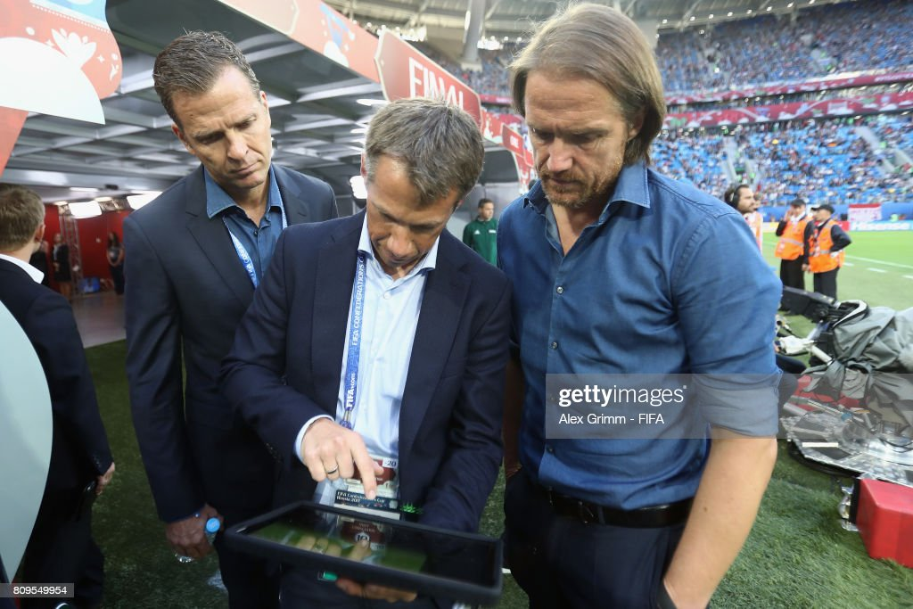 Chile v Germany: Final - FIFA Confederations Cup Russia 2017 : ニュース写真