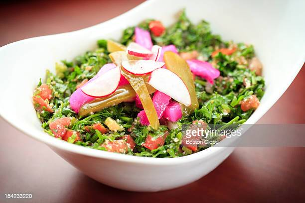 The tabouleh, a dish for $5.49 at To Beruit, a Lebanese restaurant.