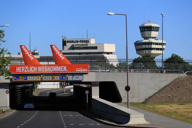 DEU: Germany's Cold War-Era Tegel Airport Allowed To Close This Month