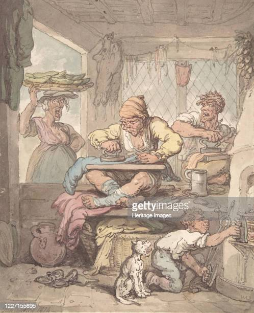 The Tailor 1814 Artist Unknown