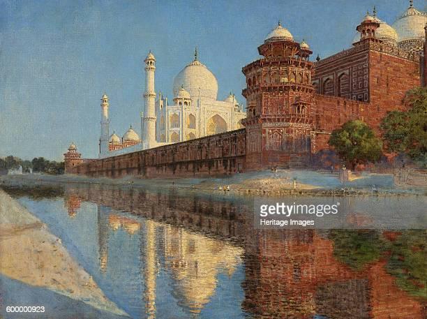 The Taj Mahal Evening Private Collection Artist Vereshchagin Vasili Vasilyevich