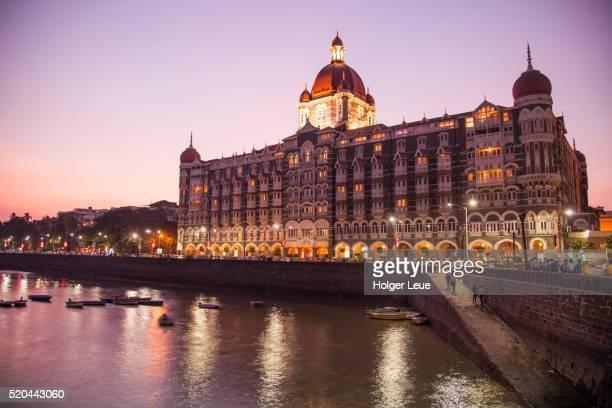 The Taj Mahal Palace Hotel at dusk