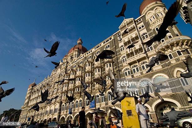 The Taj Mahal Palace Hotel in Mumbai Maharastra India