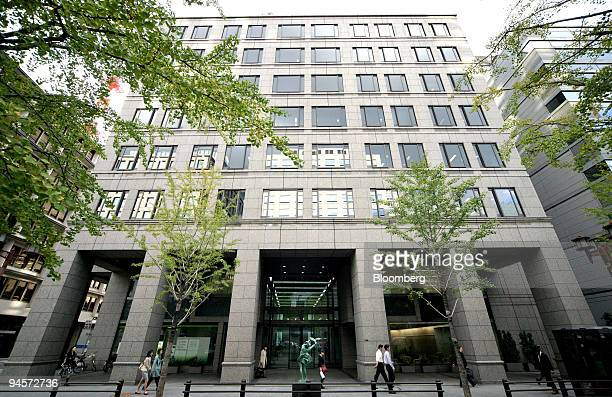 The Takeda Pharmaceutical Co headquarters stands in Osaka City Japan on Sunday Nov 4 2007 Takeda Pharmaceutical Co and Abbott Laboratories declined...
