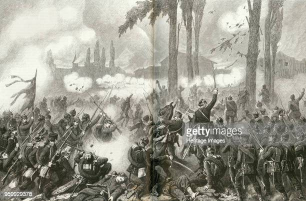 The taking of SaintPrivatlaMontagne at the Battle of Gravelotte 1871 Private Collection