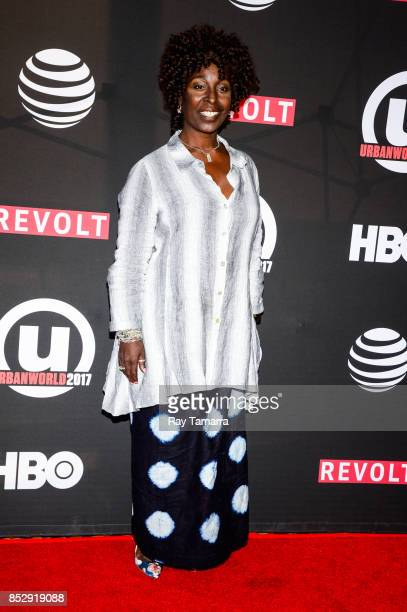 The Tale of Four cast member Phyllis Yvonne Stickney attends the 21st Annual Urbanworld Film Festival at AMC Empire 25 theater on September 23 2017...