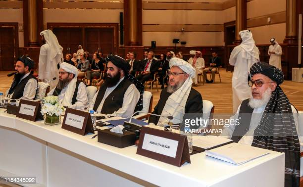 The Taliban's former minister of agriculture Abdul Latif Mansoor former envoy to Saudi Arabia Shahabuddin Delawar former culture and information...