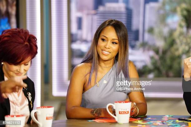 'The Talk' announces GRAMMY Award winner EVE as the new host of the Daytime Emmy Awardwinning talk show today Tuesday November 14 2017 on the CBS...