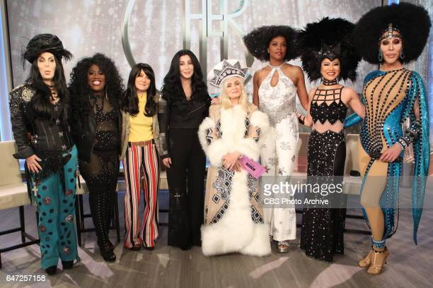 The Talk celebrates icon Cher for a special onehour episode with the pop icon on The Talk Tuesday February 28 2017 on the CBS Television Network Lisa...