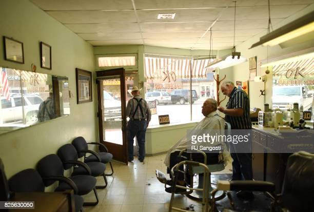 The talk of the town at Allen Setter's barber shop is all about the upcoming eclipse on August 1 2017 in Alliance Nebraska People in the small town...