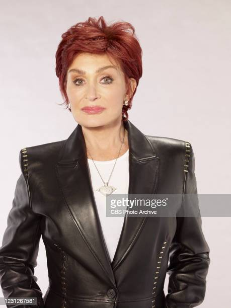 """The Talk,"""" on the CBS Television Network. Sharon Osbourne, shown."""