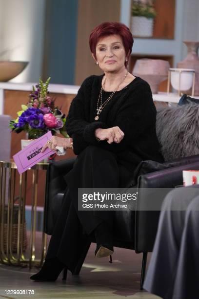 "The Talk,"" Tuesday, November 10, 2020 on the CBS Television Network. Sharon Osbourne."