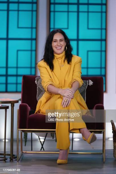 """The Talk,"""" Tuesday, November 10, 2020 on the CBS Television Network. Rumer Willis, shown."""