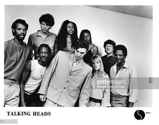 The Talking Heads Lineup For Concert Film Stop Making Sense Pose A