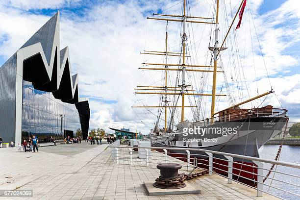 The tall ship Glenlee, Glasgow, Scotland UK
