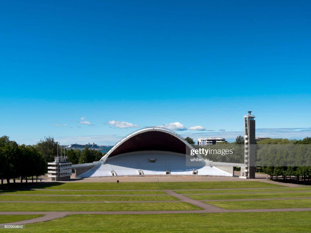 The Tallinn Song Festival Grounds, Estonia : Stock Photo