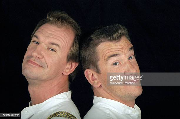 The Taloche Brothers are a comedy team of brothers Bruno and Vincent Taloche They perform physical comedy mime and humorous sketches in their shows