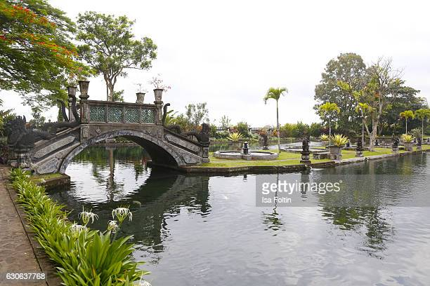 KARANGASEM BALI INDONESIA DECEMBER 23 The Taman Tirta Gangga Water Palace on December 23 2016 in Karangasem Bali Indonesia