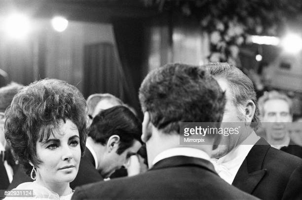 The Taming of the Shrew Royal Film Performance The Odeon Leicester Square London Monday 27th February 1967 Our picture shows actress Elizabeth Taylor...