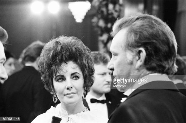 The Taming of the Shrew Royal Film Performance The Odeon Leicester Square London Monday 27th February 1967 Our picture shows husband and wife...