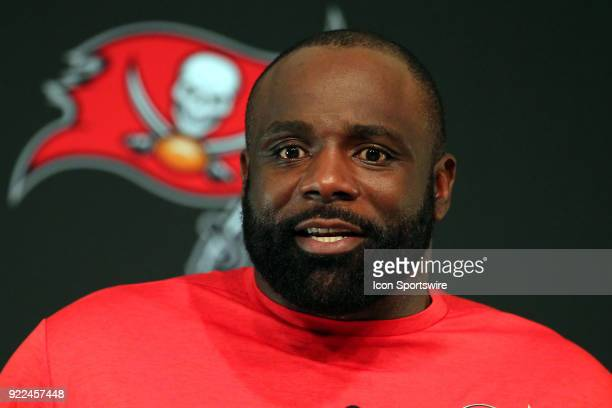 The Tampa Bay Buccaneers announce that they have signed former NFL player Brentson Buckner to coach the Bucs defensive linemen Buckner speaks to the...
