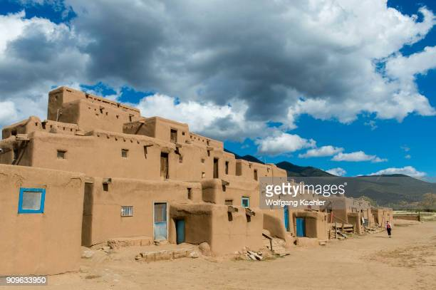 The Taos Pueblo which is the only living Native American community designated both a World Heritage Site by UNESCO and a National Historic Landmark...