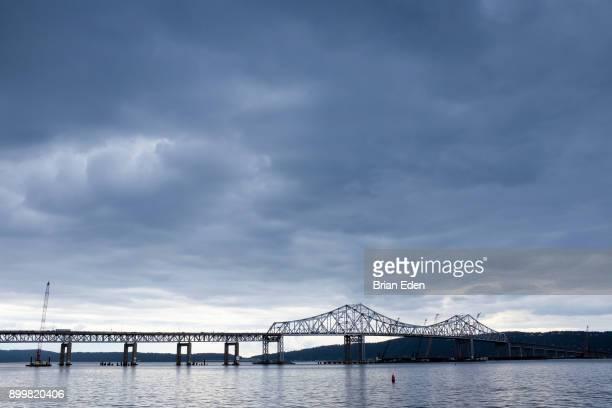 The Tappan-Zee Bridge in Tarrytown, New York